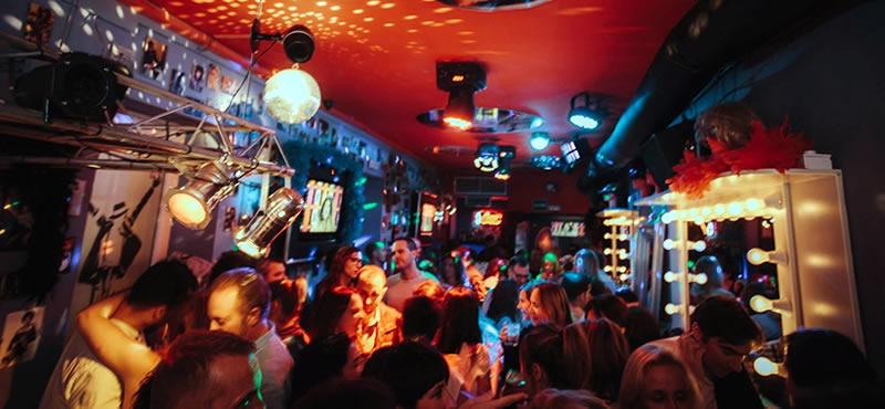 1987 Gay friendly bar Seville