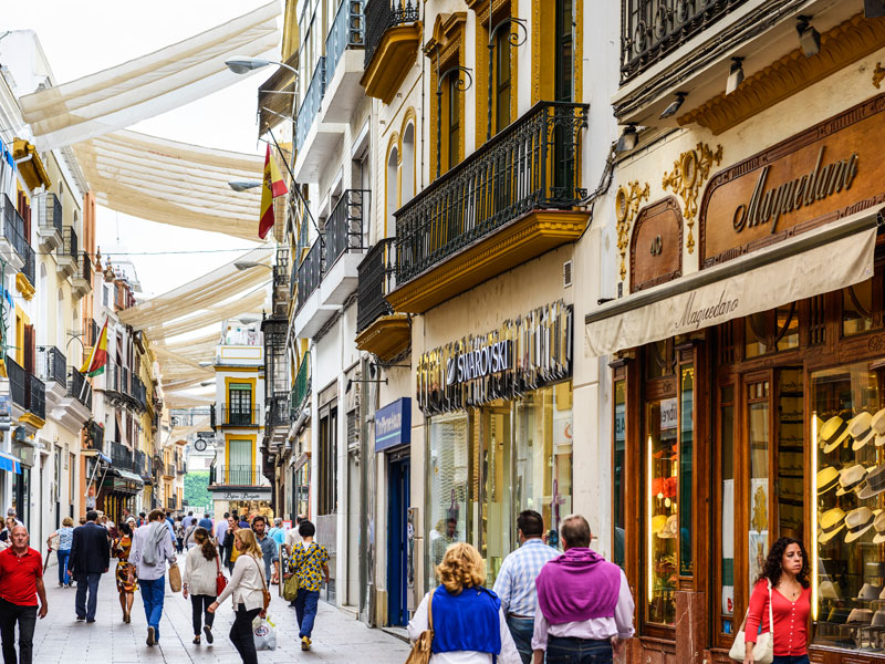 Gay Shopping in Seville